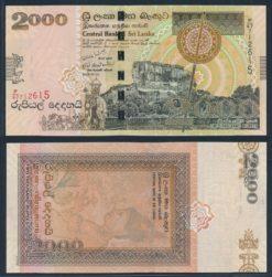 Sri Lanka 2006 2000 Rupees bankbiljet UNC Pick 121b