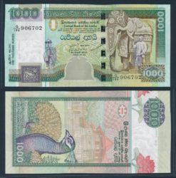 Sri Lanka 2006 1000 Rupees bankbiljet UNC Pick 120d