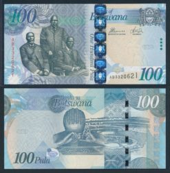 Botswana 2010 100 Pula bankbiljet UNC Pick 33b