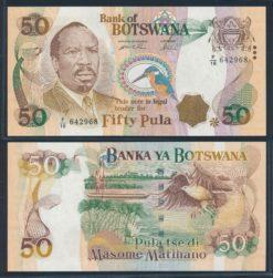 Botswana 2000 50 Pula bankbiljet UNC Pick 22