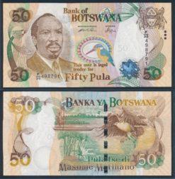 Botswana 2009 50 Pula bankbiljet UNC Pick 28