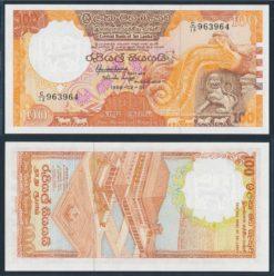 Sri Lanka 1988 100 Rupees bankbiljet UNC Pick 99b