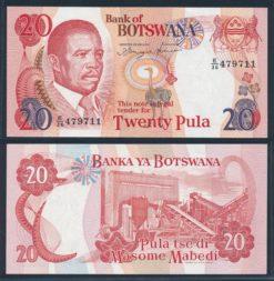 Botswana 1997 20 Pula bankbiljet UNC Pick 18