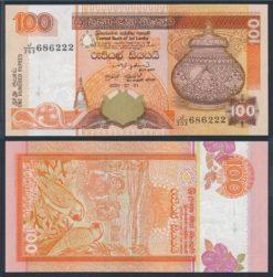 Sri Lanka 2004 100 Rupees bankbiljet UNC Pick 110C
