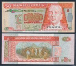 Guatemala 2006 50 Quetzales bankbiljet UNC Pick 113a