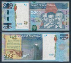 Guatemala 2009 200 Quetzales bankbiljet UNC Pick 120