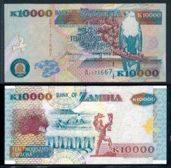 Zambia 2001 10.000 Kwacha bankbiljet UNC- Pick 42b
