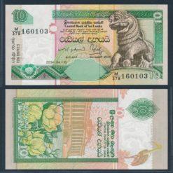 Sri Lanka 2004 10 Rupees bankbiljet UNC Pick 108C