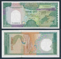 Sri Lanka 1987 1000 Rupees bankbiljet UNC Pick 101a