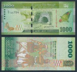 Sri Lanka 2010 1000 Rupees bankbiljet UNC Pick 127a
