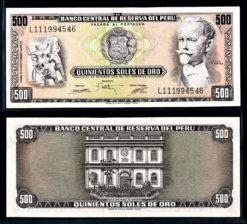 Peru 1975 500 Soles bankbiljet UNC Pick 110