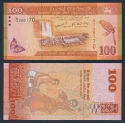 Sri Lanka 2010 100 Rupees bankbiljet UNC Pick 125