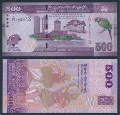 Sri Lanka 2013 500 Rupees Gelegenheids bankbiljet UNC Pick 129