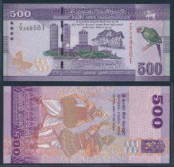 Sri Lanka 2010 500 Rupees bankbiljet UNC Pick 126a