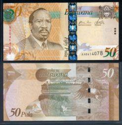Botswana 2009 50 Pula bankbiljet UNC Pick 32a