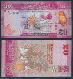 Sri Lanka 2010 20 Rupees bankbiljet UNC Pick 123a