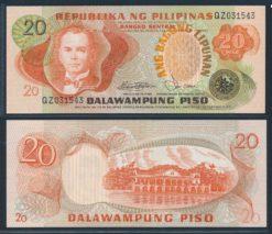 Filipijnen ND 1978 20 Piso bankbiljet UNC Pick 162b