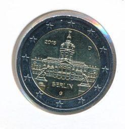 Duitsland 2018 G 2 Euro Deelstaat Berlijn