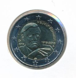 Duitsland 2018 A 2 Euro 100e Verjaardag Helmut Schmidt