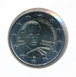 Duitsland 2018 J 2 Euro 100e Verjaardag Helmut Schmidt