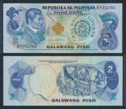 Filipijnen 1981 2 Piso Gelegenheids  bankbiljet UNC Pick 166a