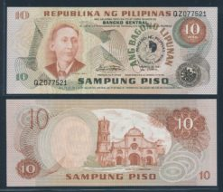 Filipijnen 1981 10 Piso bankbiljet UNC Pick 167a