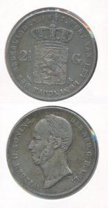 Nederland Zilveren Rijksdaalder Willem II 1847