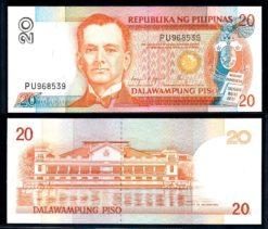 Filipijnen 1985 20 Piso bankbiljet UNC Pick 170c