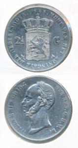 Nederland Zilveren Rijksdaalder Willem II 1848