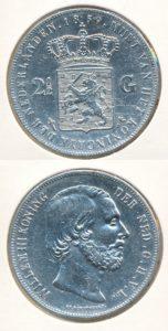 Nederland Zilveren Rijksdaalder Willem III 1859