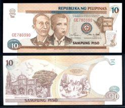 Filipijnen 1998 10 Piso bankbiljet UNC Pick 187d