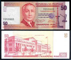 Filipijnen 2006 50 Piso bankbiljet UNC Pick 193b