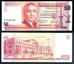 Filipijnen 2008 50 Piso bankbiljet UNC Pick 193b