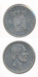 Nederland Zilveren Rijksdaalder Willem III 1873