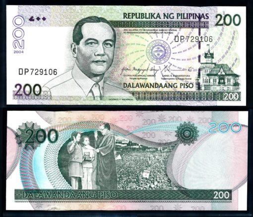 Filipijnen 2004 200 Piso bankbiljet UNC Pick 195a 1