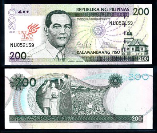 Filipijnen 2011 200 Piso bankbiljet UNC Pick 195c 1