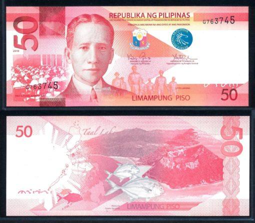 Filipijnen 2010 50 Piso bankbiljet UNC Pick 207a 1