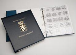 DAVO Luxe munten album II Albert I, Leopold III, Prins Karel