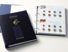 DAVO Luxe munten album Kosmos Euro eerste 12 landen