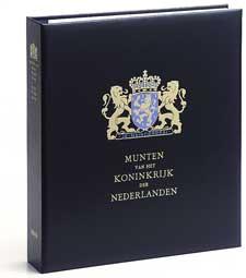 DAVO Luxe band munten album Koningin Wilhelmina