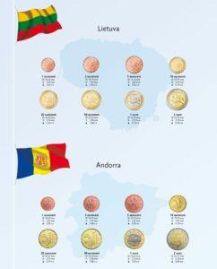 DAVO Luxe Kosmos supplement Litouwen Andorra 2015 voor euro album