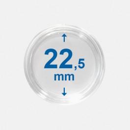 Importa muntcapsules 22,5 mm Crystal Clear 10 Stuks
