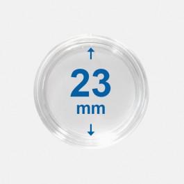 Importa muntcapsules 23 mm Crystal Clear 10 Stuks