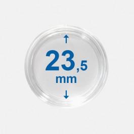 Importa muntcapsules 23,5 mm Crystal Clear 10 Stuks