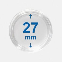 Importa muntcapsules 27 mm Crystal Clear 10 Stuks