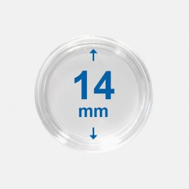 Importa muntcapsules 14 mm Crystal Clear 10 Stuks