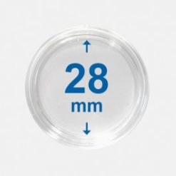 Importa muntcapsules 28 mm Crystal Clear 10 Stuks