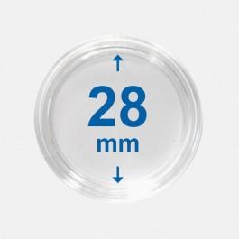 Importa muntcapsules 28 mm Crystal Clear 10 Stuks 1