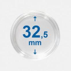 Importa muntcapsules 32,5 mm Crystal Clear 10 Stuks