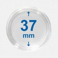 Importa muntcapsules 37 mm Crystal Clear 100 Stuks